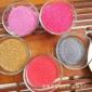 厂家直销 染色彩砂 彩色环氧地坪用 耐磨耐酸碱